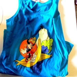 Disney Minnie Mouse Tropical Fruit Dress Coverup